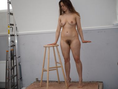 Playing with chair